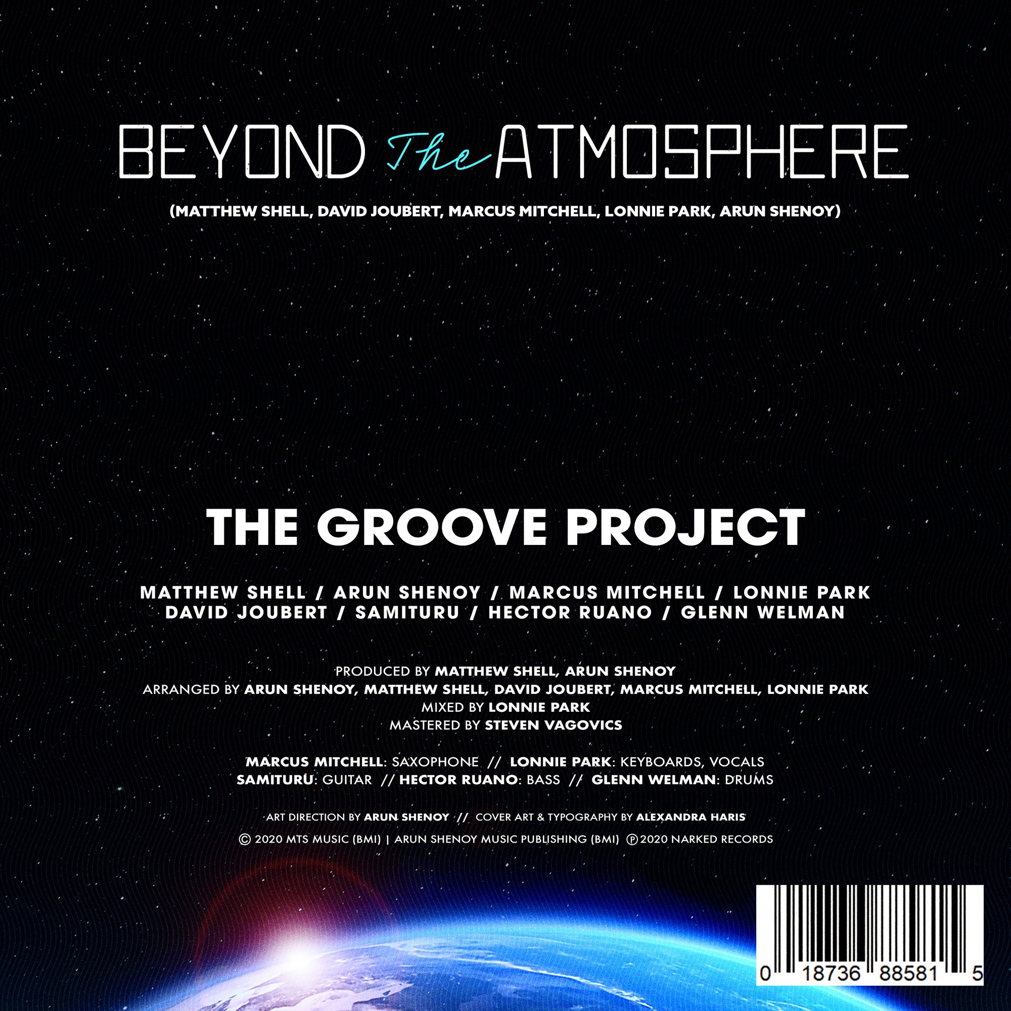Beyond the Atmosphere - Credits Sheet