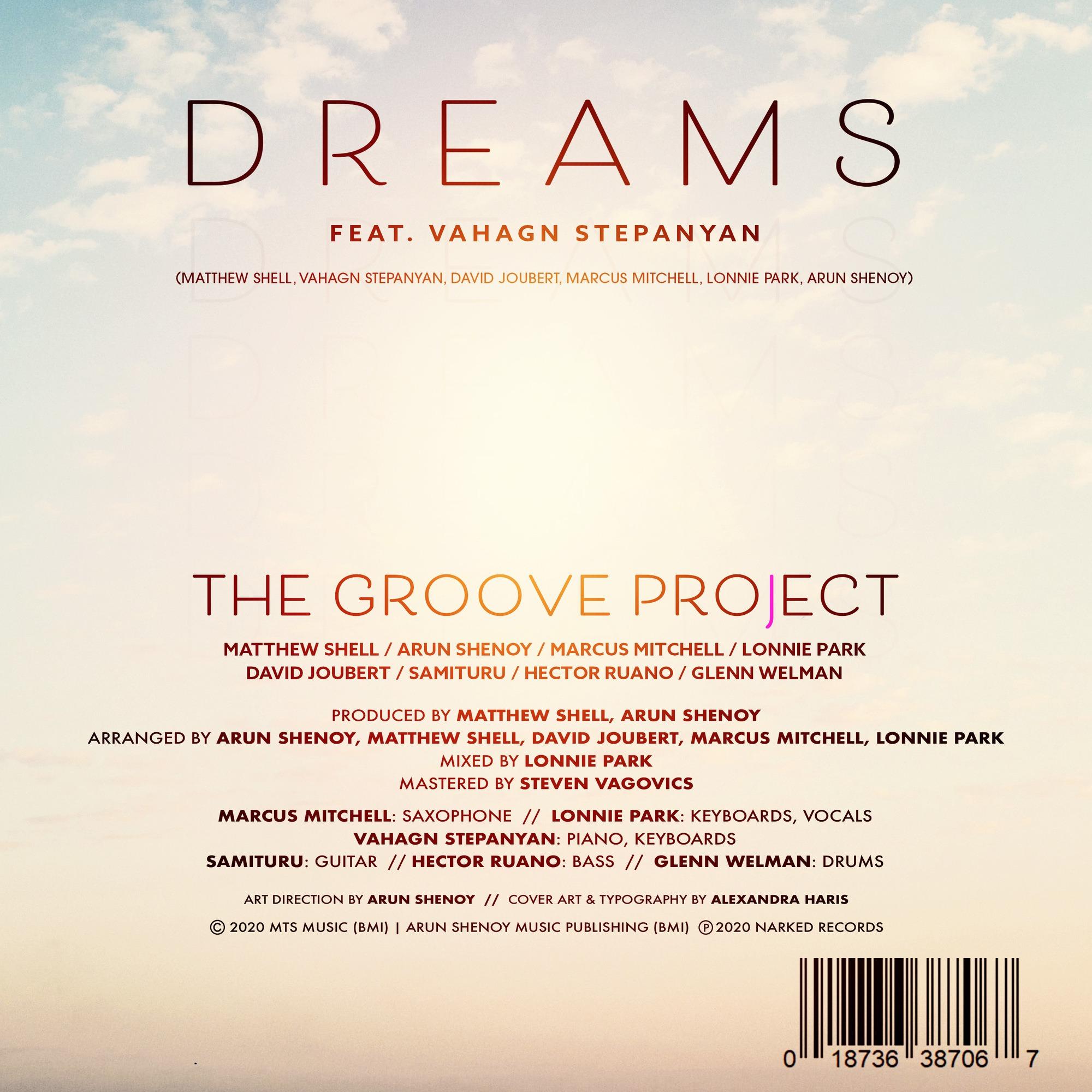 Dreams - Credits Sheet
