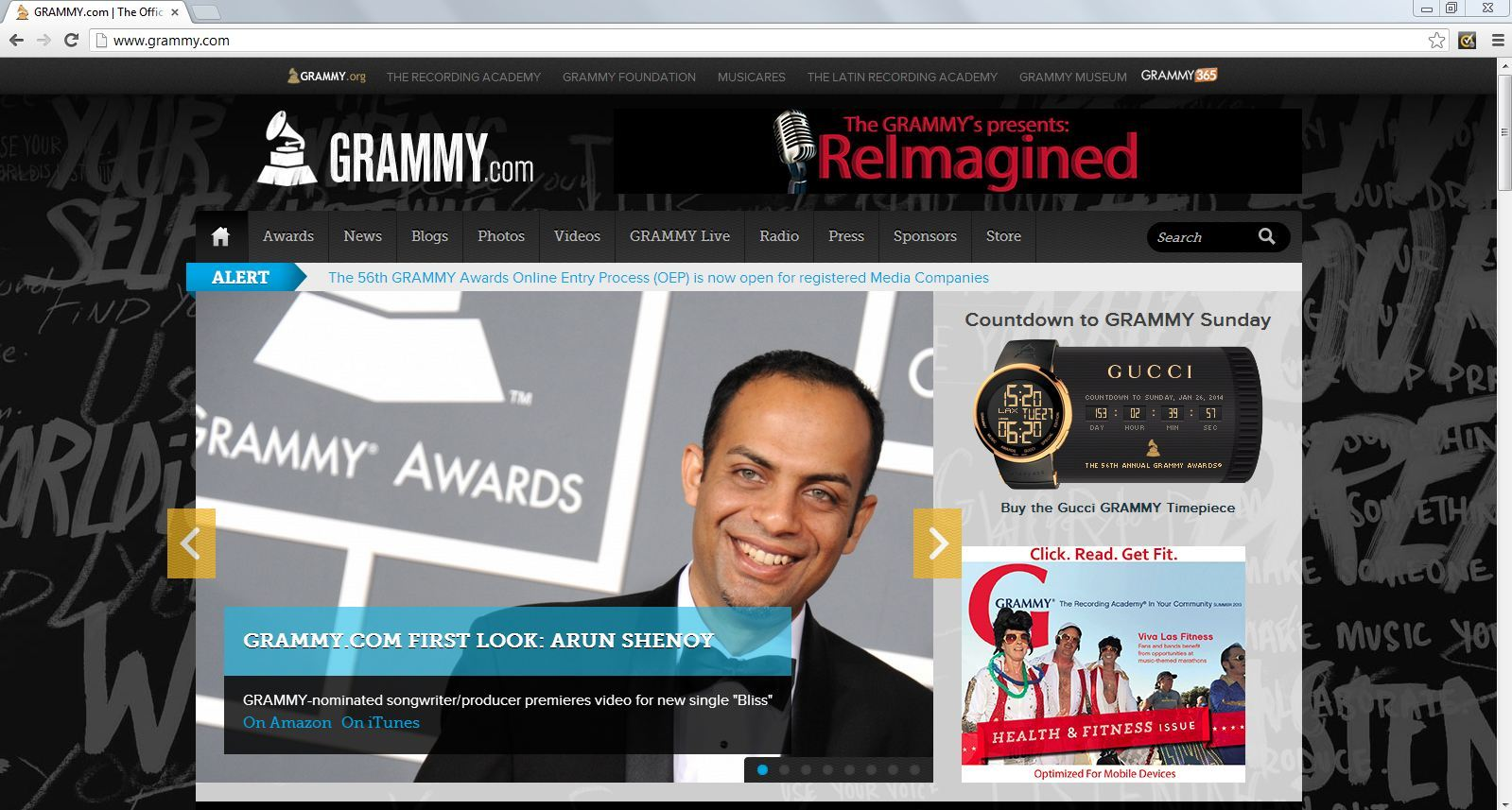 Arun Shenoy GRAMMY.com Exclusive