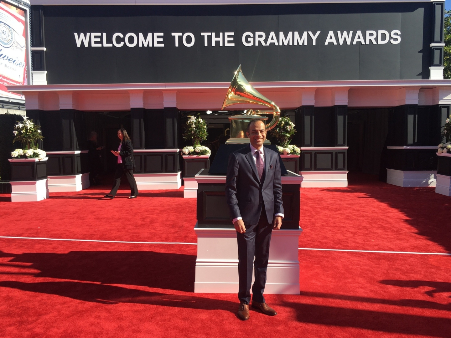 Arun Shenoy attends the 59th Annual GRAMMY Awards at STAPLES Center on February 12, 2017 in Los Angeles, California. (Photo courtesy Ariane Cap)