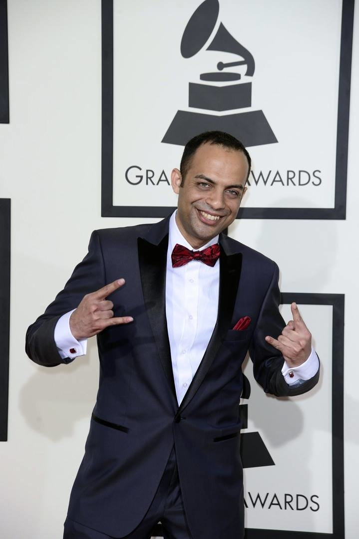 Arun Shenoy arrives for the 57th annual Grammy Awards held at the Staples Center in Los Angeles, California, USA, 08 February 2015. EPA/MICHAEL NELSON